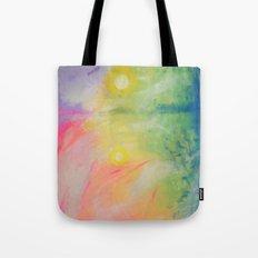 Impressions At Sundown  Tote Bag
