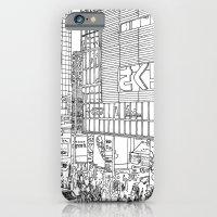 iPhone & iPod Case featuring Tokyo - Shinjyuku by parisian samurai studio