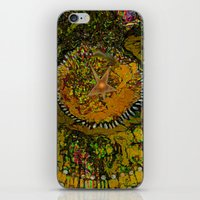 Abstract-Soul Of The Sun by  Sherri Of Palm Springs iPhone & iPod Skin