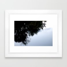 as the storm clears Framed Art Print