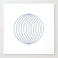 #352 Orbital – Geometr… Canvas Print