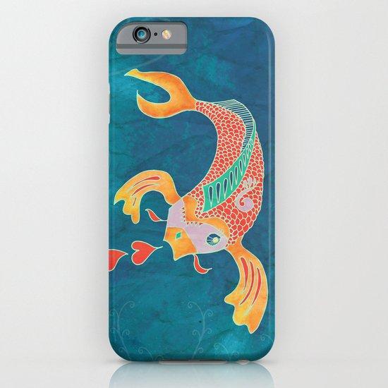 Breathing Love - Goldfish, Koi, Hearts iPhone & iPod Case