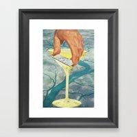 Drop The Sink & Fix Me A… Framed Art Print