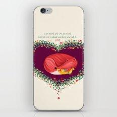 Weird L.O.V.E iPhone & iPod Skin