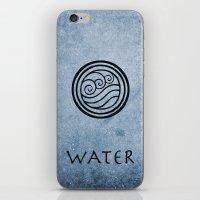 Avatar Last Airbender - Water iPhone & iPod Skin