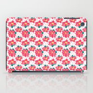 The Poinsettia Pattern iPad Case