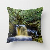 Padley Gorge II Throw Pillow