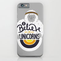 I Believe In Unicorns iPhone 6 Slim Case