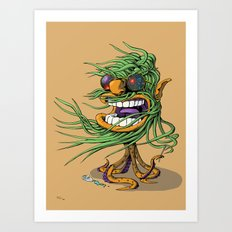 Hey Mr. Spaceman! Art Print
