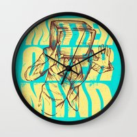 Matter Over Mind Wall Clock