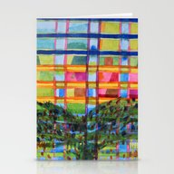 Tree In Front Of A Buil… Stationery Cards