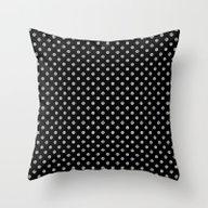Earth Noir Pattern Throw Pillow