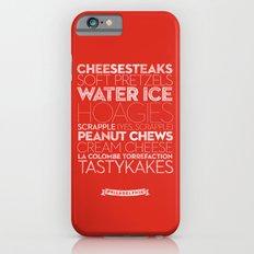 Philadelphia — Delicious City Prints iPhone 6 Slim Case