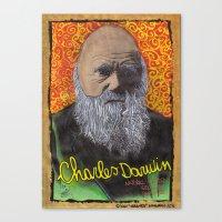 Charles Darwin Canvas Print