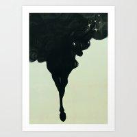 unicorn Art Prints featuring Unicorn by mayhapping