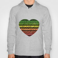 One Love Tribal {black} Hoody