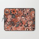 Doodle hearts Laptop Sleeve