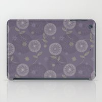 Folky Lace Flowers iPad Case