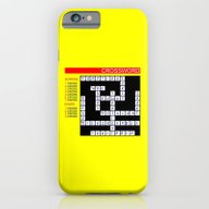 iPhone & iPod Case featuring Crossword by Mailboxdisco