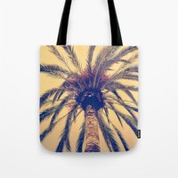 Tenerife Palm Tree Tote Bag