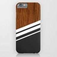 Wood StYle Black iPhone 6 Slim Case