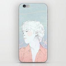 IF YOU (MINI PRINT)  iPhone & iPod Skin