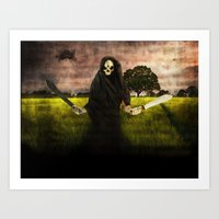 Death Loves You Art Print