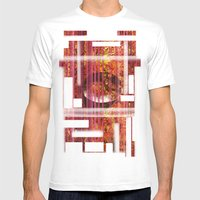 Texture Mens Fitted Tee White SMALL