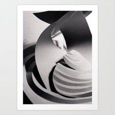 Paper Sculpture #6 Art Print