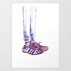 Shoes2 Art Print