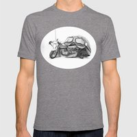 Cafe Racer II Mens Fitted Tee Tri-Grey SMALL