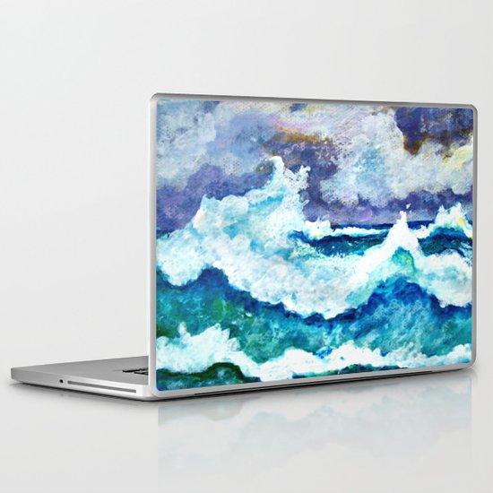 Stormy Sea Laptop & iPad Skin