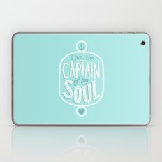 I am the Captain of my Soul Laptop & iPad Skin