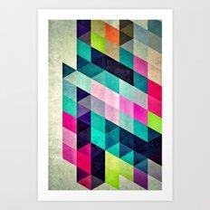 Cyrvynne xyx Art Print