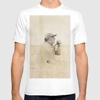 PIPE Mens Fitted Tee White SMALL