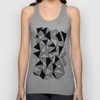 Ab Lines With Black Bloc… Unisex Tank Top