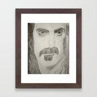 The Zap Framed Art Print