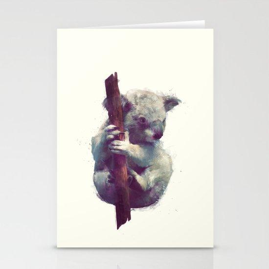 Koala Stationery Card