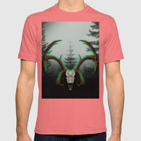 C-1 Horns Mens Fitted Tee Pomegranate SMALL
