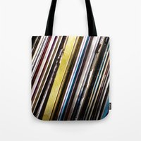 My life is a song Tote Bag