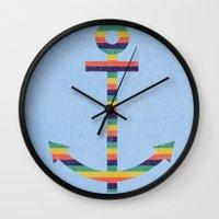 Set Sail No.2 Wall Clock