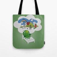 Unspeakable Nightmare Tote Bag