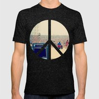 Woodstock 69 Mens Fitted Tee Tri-Black SMALL