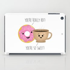 Donut and Coffee  |  Really Hot and So Sweet iPad Case