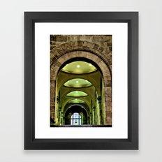 stone texture Framed Art Print