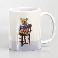 Tiny Tiger Valentine Mug