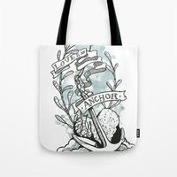 Love Is An Anchor Tote Bag
