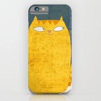 Cat-mouse friendship iPhone 6 Slim Case