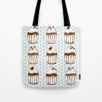 Retro Cupcakes Tote Bag