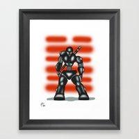 Robot Series - Snake-Eye… Framed Art Print
